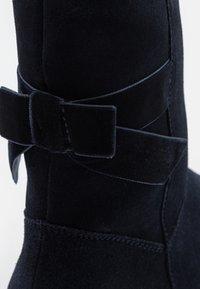 Friboo - LEATHER - Snowboots  - dark blue - 5