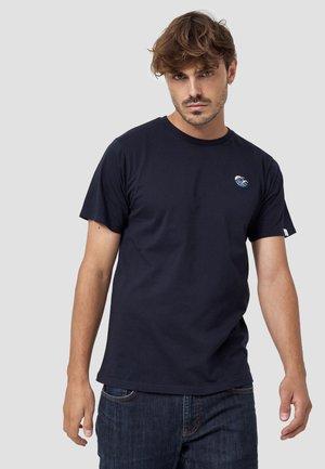 WELLE - T-shirt basic - blau