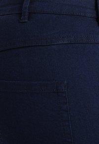 Zizzi - LONG AMY - Slim fit jeans - dark blue - 5