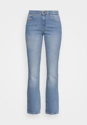 BOOTCUT - Bootcut jeans - light blue denim