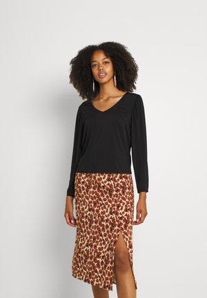 VIEBONI - Långärmad tröja - black