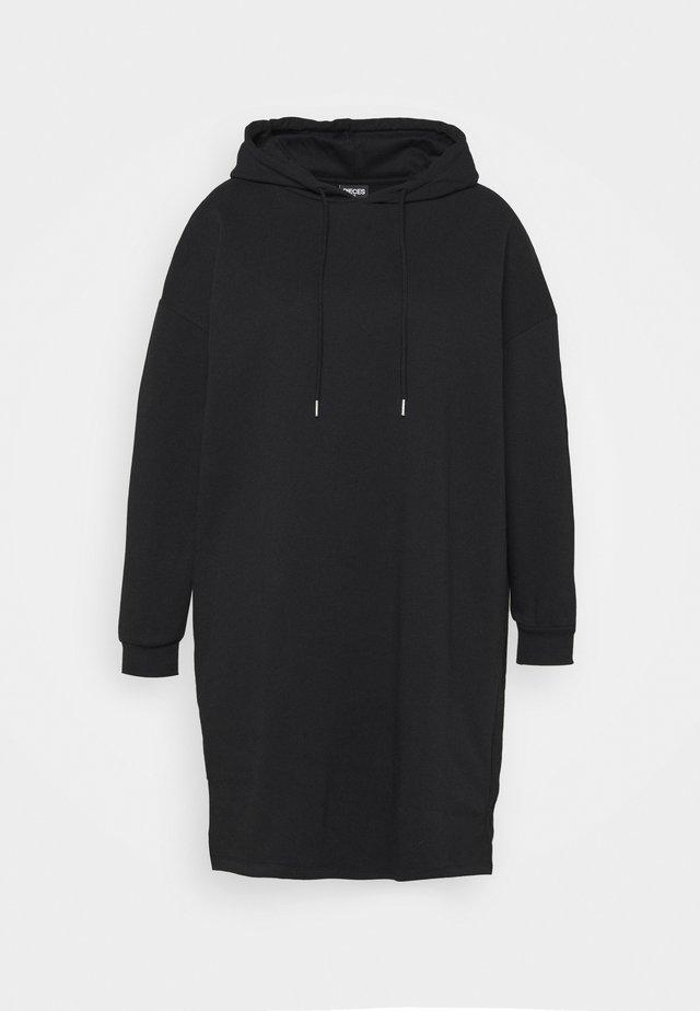 PCCHILLI RESET DRESS - Korte jurk - black/white