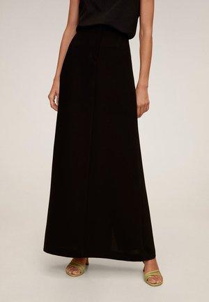 NUBE-A - Maxi skirt - noir