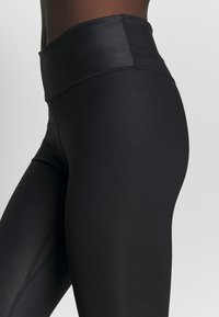 Nike Performance - ONE 7/8  - Leggings - black/smoke grey - 5