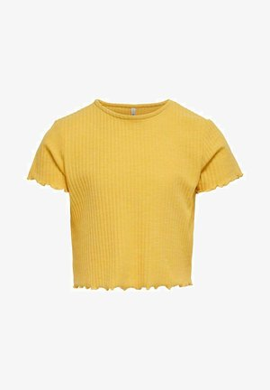 T-shirt basic - cornsilk