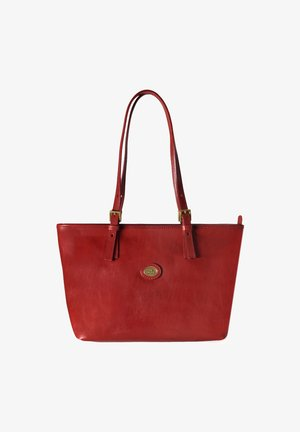 THE BRIDGE STORY DONNA SHOPPER TASCHE LEDER 30 CM - Handbag - rosso ribes