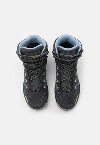 Lowa - INNOX PRO GTX MID - Hiking shoes - graphite/mint - 3