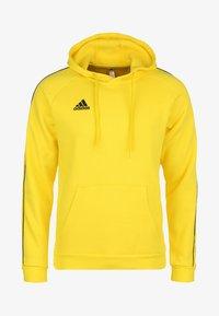 adidas Performance - CORE ELEVEN FOOTBALL HOODIE SWEAT - Hoodie - yellow - 0