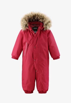 Snowsuit - lingonberry red