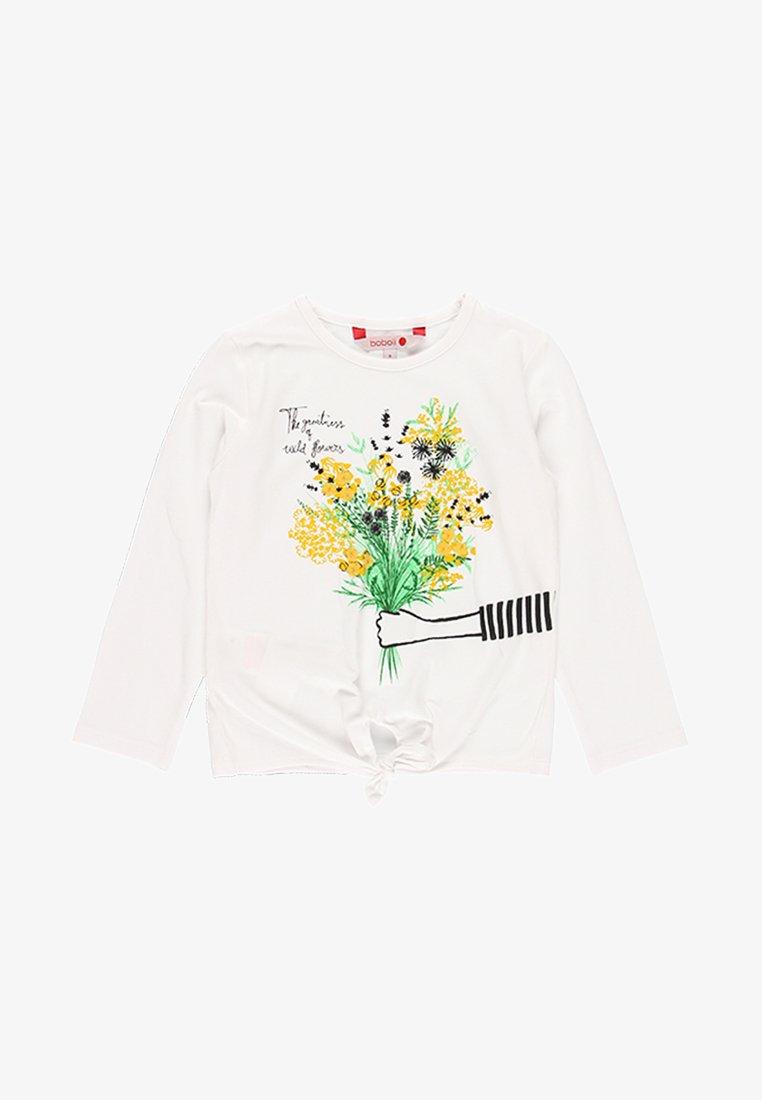 Boboli - Long sleeved top - white