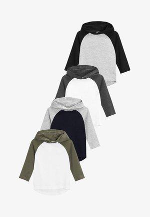 4 PACK - Long sleeved top - grey
