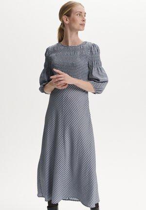 Day dress - tricolore check