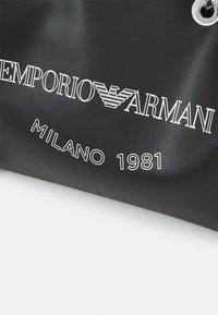Emporio Armani - MYEABORSA SHOPPING SET - Velká kabelka - nero/bianco - 5
