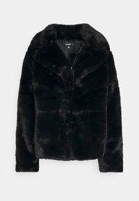 Missguided - SHORT COLLAR COAT - Winter jacket - black - 5