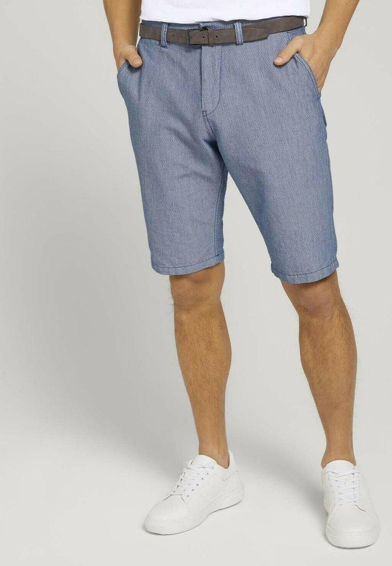 TOM TAILOR - Shorts - light blue minimal indigo
