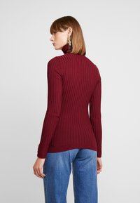 New Look - ROLL - Jersey de punto - dark burgundy - 2