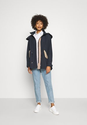 OLIVIA COLOR BLOCK - Parka - desert sky