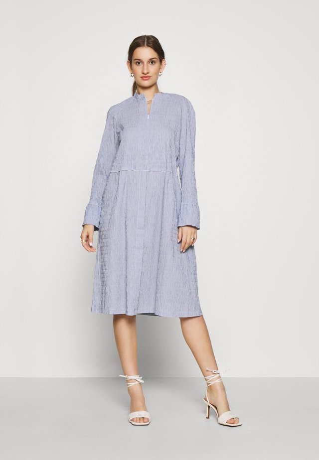 DUPINA - Day dress - light blue/white