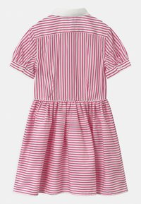 Polo Ralph Lauren - STRIPE - Košilové šaty - pink/white - 1