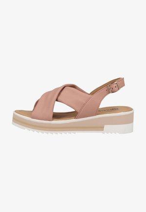 Sandaler m/ kilehæl - cipria