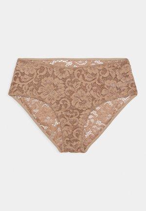 MAALIKA - Pants - camel brown