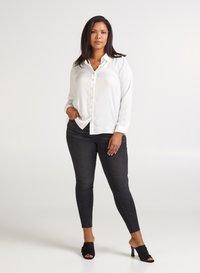 Zizzi - Button-down blouse - off-white - 1