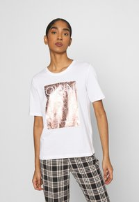 ONLY - ONLIVY - Print T-shirt - bright white - 0