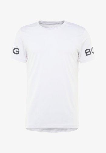 T-shirts med print - brilliant white