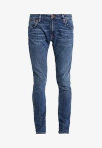 Nudie Jeans - SKINNY LIN - Jeans Skinny Fit - dark blue navy - 3
