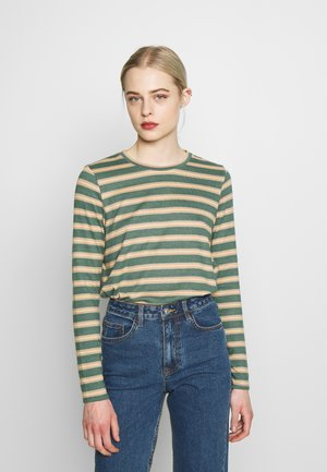 CREW TEE PLUSH - Long sleeved top - green