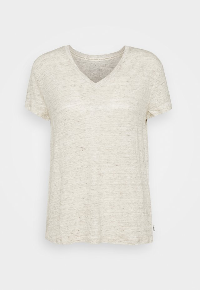 CEYLAN WOMAN - T-shirts basic - ecru
