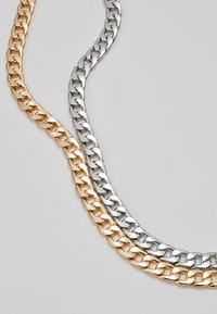 Burton Menswear London - SMOOTH CHAIN NECKLACE 2 PACK SET - Övrigt - mixed - 4