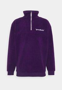 GOODBOIS - OFF HALFZIP - Fleecová mikina - purple - 0