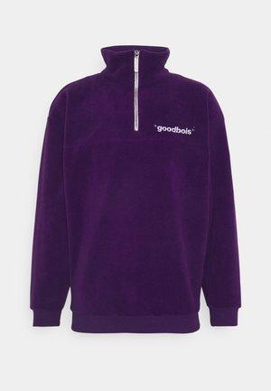 OFF HALFZIP - Fleecová mikina - purple