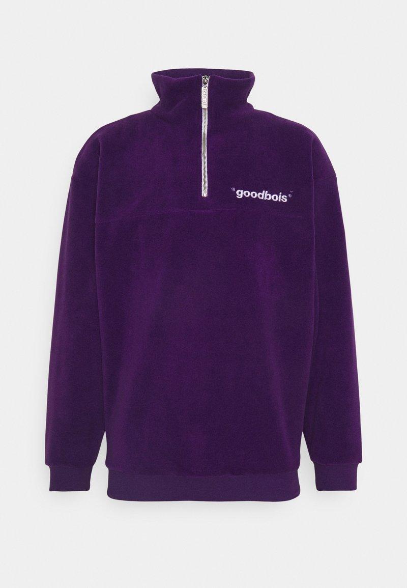 GOODBOIS - OFF HALFZIP - Fleecová mikina - purple