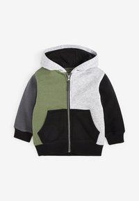 Next - SET - Zip-up hoodie - khaki - 1