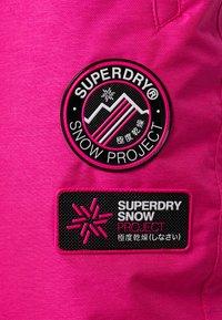 Superdry - Ski- & snowboardbukser - luminous pink - 6
