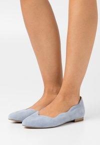 Caprice - SLIP ON - Ballerina's - denim - 0