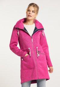 Schmuddelwedda - Krátký kabát - pink melange - 0