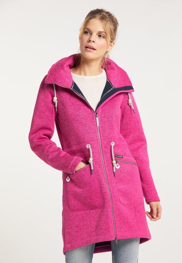 Kurzmantel - pink melange