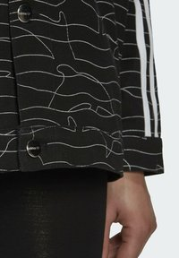 adidas Originals - JACKET - Cowboyjakker - black/white/silver met. - 5