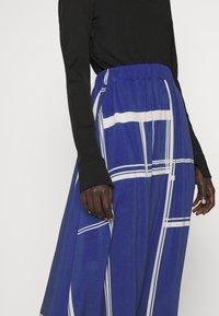 Libertine-Libertine - BOX - A-line skirt - limouges blue - 3