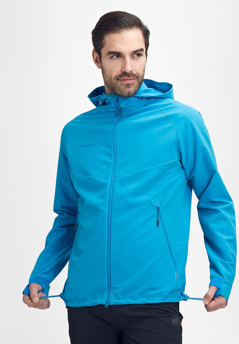 Mammut - MACUN - Soft shell jacket - blue