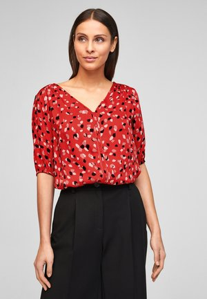 Blouse - red aop