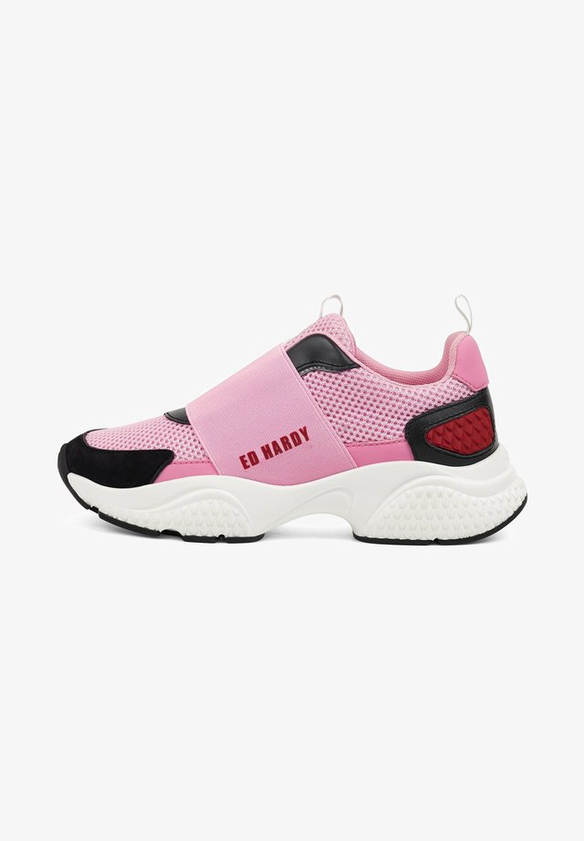 COVERED RUNNER - Sneaker low - pink