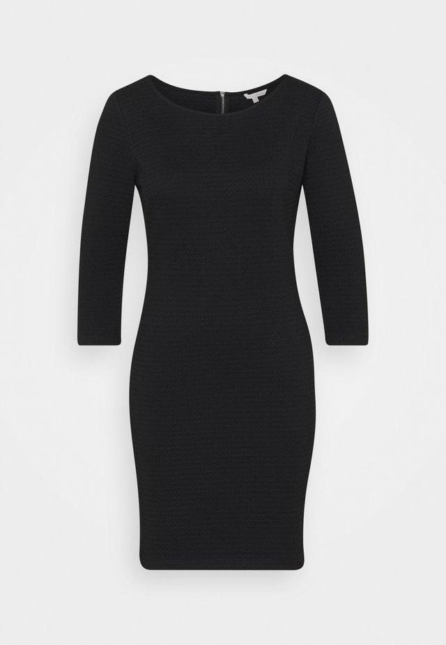 Sukienka etui - deep black