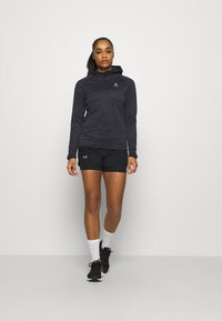 ODLO - HOODY MIDLAYER MILLENNIUM ELEMENT - Long sleeved top - black - 1