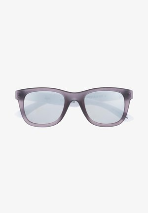 LOGO - Aurinkolasit - grey