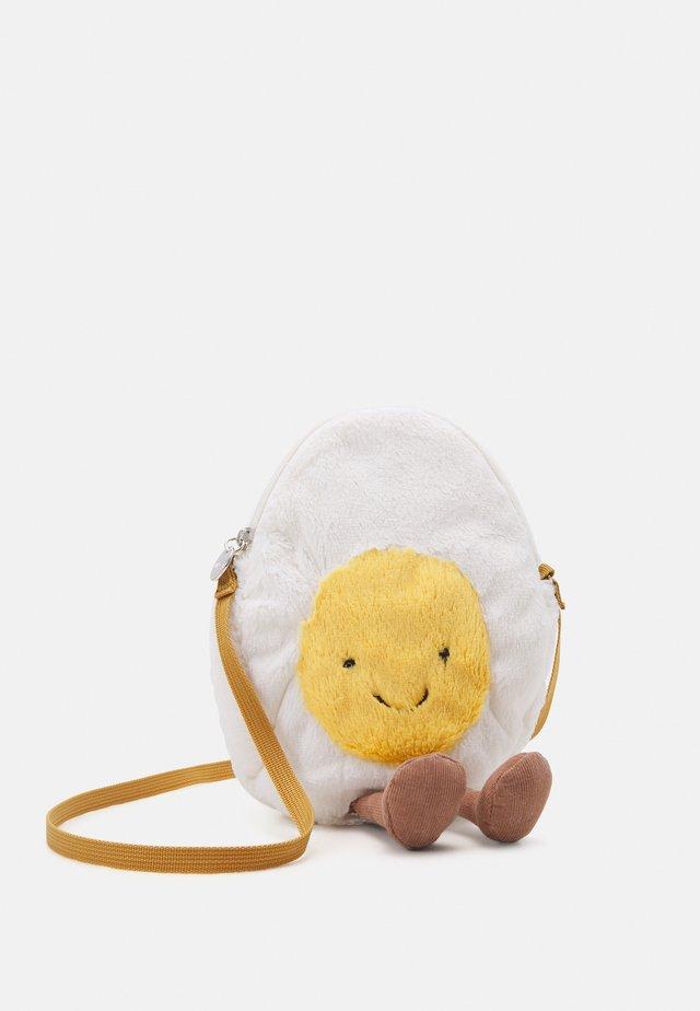 AMUSEABLE HAPPY BOILED EGG BAG - Handtas - white
