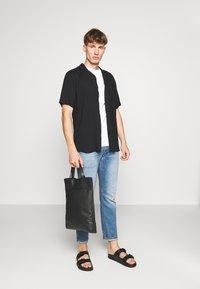 Newport Bay Sailing Club - MULTI TEE MARLS 7 PACK - T-shirt basique - black/white/grey/blue - 1